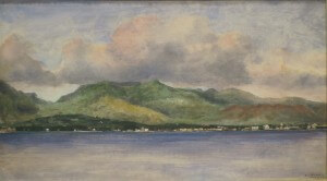 'Honolulu_from_off_Shore'_by_William_A._Coulter,_oil_on_canvas,_1882,_Hawaii_State_Art_Museum